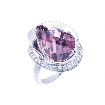 ScRose Pink Tourmaline Ring