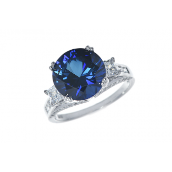 ScBlue Sapphire Ring